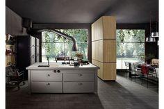 Cucina Minà Home di Minacciolo dettaglio cappa regolabile in acciaio #Minacciolo #kitchens