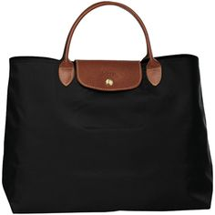 Longchamp Open Tote Cabas in Chocolate Brown Versace Handbags, Luxury Handbags, Longchamp Le Pliage, Travel Wardrobe, Shopper, New Bag, Beautiful Bags, Purses And Bags, Fashion Accessories