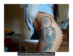 Dreamcatcher Tattoos On Hip 25 - http://dreamcatchertattoo.net/dreamcatcher-tattoos-on-hip-25/
