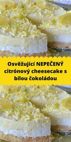 Cheesecake, Camembert Cheese, Recipies, Lemon, Recipes, Cheesecakes, Cherry Cheesecake Shooters