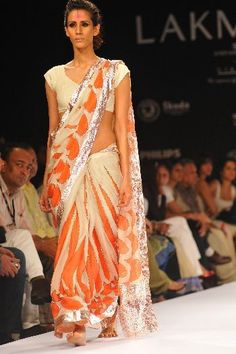 Anand Kabra designer #saree