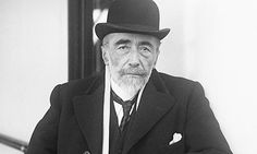 Joseph Conrad arriving in New York in 1923. Photograph: Bettman/Corbis Unknown/© Bettmann/CORBIS