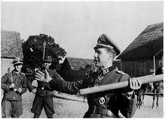 Estonian Waffen-SS Volunteer Some Estonians were captured by the British in Denmark in May 1945, which included the famous Knights Cross Winner SS-Obersturmbannführer Harald Riipalu of the Waffen-Grenadier Regiment der SS 45 Estland (Estnische Nr. 1).