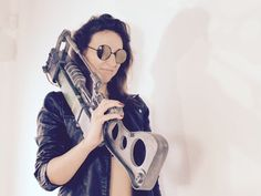 Fallout inspired Laser Rifle cosplay by FutureSculpture on Etsy