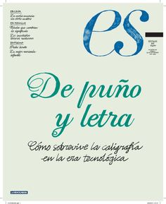 """1.- """"De puño y letra : Cómo sobrevive la caligrafía en la era tecnológica"""" Suplemento: Estilos de vida La Vanguardia (26/09/2009) Arabic Calligraphy, Bridges, Cover Pages, Lyrics, Life, Arabic Calligraphy Art"""