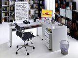 #7: Schreibtisch PC-Tisch 40229 weiß hochglanz - http://www.xn--brombel-profi-lmb0g.com/schreibtische/7-schreibtisch-pc-tisch-40229-weiss-hochglanz/