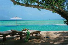Resort Taj Exotica nas ilhas Maldivas
