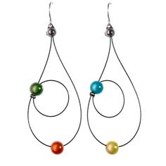 Rain Earrings by Spruce Jewelry | Custom Jewelry, Handmade in Austin, TX