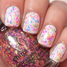 """Point Me To The Party"" - China Glaze Summer 2015 Electric Nights collection."