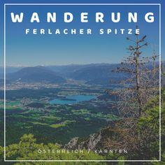 Die besten Tipps für einen Aufstieg auf die Ferlacher Spitze in Österreich über die Bertahütte. Dieser Berg befindet sich in den Karawanken. Am Gipfel der Ferlacher Spitze hat man einen genialen Ausblick auf den Faaker See in Kärnten. #österreich #kärnten #wanderninkärnten #hike #wandern #ferlacherspitze #faakersee #urlaubinkärnten #tipps #idee #wanderninösterreich Berg, Mountains, Nature, Travel, Villach, Baby Sister, Alps, Naturaleza, Viajes