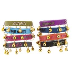 Music Maker Jingle Bracelets - 8 Pack | Zumba Fitness Shop  #newcollection #zumbawear #zwag