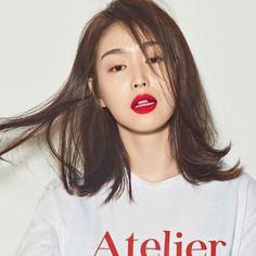 Popular International Hair Trends And Haircuts 2019 Permed Hairstyles, Trendy Hairstyles, Straight Hairstyles, Medium Hair Cuts, Medium Hair Styles, Short Hair Styles, Wavy Hair, New Hair, Asian Hair