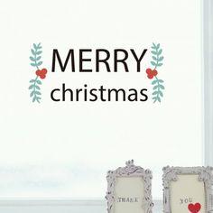 Merry Christmas illustration sticker
