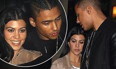Kourtney Kardashian, 36, joins Diddy's son Quincy, 24