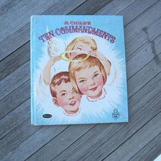Sweet Children's Book A Child's 10 by LittleVintageStories on Etsy