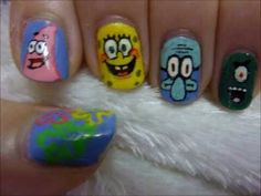 A nail art I would really love to do. It looks super fun! I found it on rubikscube907 YouTube channel.
