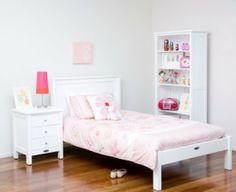 Cottage King Single Bed With Duvet End Princess Room, Little Princess, King Single Bed, Big Beds, Shared Rooms, Girl Rooms, Celine, Mattress, Duvet