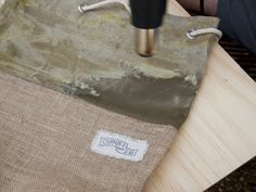 How to Wax Canvas with Tasha Chapman - Korduroy. Canvas Duffle Bag, Waxed Canvas Bag, Diy Canvas, Canvas Fabric, Canvas Bags, Canvas Totes, Fabric Crafts, Sewing Crafts, Sewing Projects