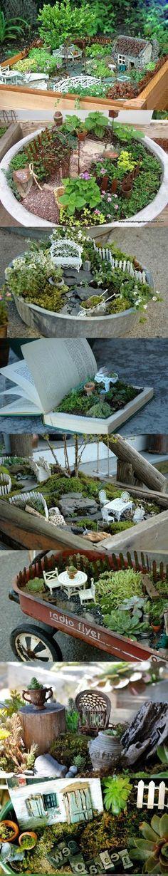 Yaratıcı ve Doğal Bahçe Dekorasyon Fikirleri - Part 3