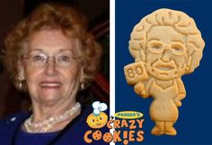 80th Birthday Party - Custom Cookies - Party Favors - Surprises!