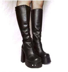 Shop from the best fashion sites and get inspiration from the latest style. Fashion discovery and shopping in one place at Wheretoget. Pretty Shoes, Cute Shoes, Me Too Shoes, Funky Shoes, Crazy Shoes, 90s Fashion, Fashion Shoes, Buffalo Boots, Shoes