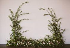 garland backdrop