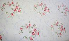 SHABBY CHIC RACHEL ASHWELL ROSE WREATH FABRIC picclick.com