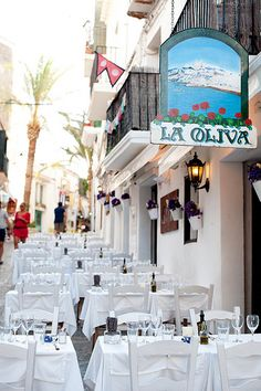 #zimmermanngoesto La Oliva, renowned family run Ibiza restaurant in Dalt Vila
