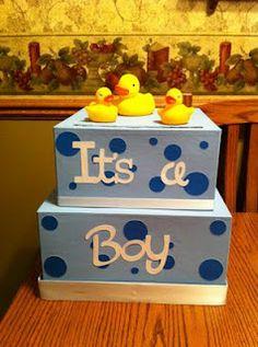Superior Baby Shower Cardbox