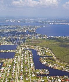 World's Most Beautiful Canal Cities:  Cape Coral, FL #fabfloridalife