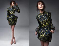 Dress Gabrieli Hezner  fot. Anna Zyskowska  stylizacja Tendere  model Krysia Ziółek / NEW AGE MODELS  Baroque fashion
