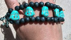 Turquoise Boedha bracelet by Jewelrymadebynature on Etsy, €98.60