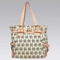 MICHAEL Michael Kors Jet Set Logo Longan Medium Travel Tote