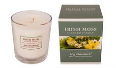 Irish Moss Large Candle