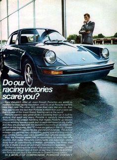 Porsche advertisement