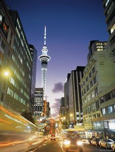 Auckland city! <3 used to be able to see the skytower every night <3 Auckland, New Zealand - Auckland, Neuseeland