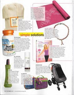 """Natural Solutions: Almond Soothing Body Wash is featured in the October 2013 issue, included in """"Simple Solutions"""" and recommended to """"soften and protect skin."""""""