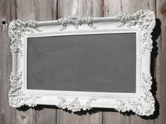 shabby chalkboard