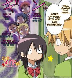 Kaichou wa Maid-sama! - Why does she have so many stalkers?