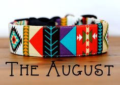 Hey, I found this really awesome Etsy listing at https://www.etsy.com/listing/202684148/multi-color-stripe-aztec-inspired-dog