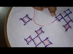 Kutch work or Kachchi Embroidery Tutorial  PART-1 - YouTube