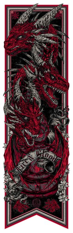 """""""Call the Banners"""" a collection of Game of Thrones posters by Rhys Cooper   Prints available for purchase from BigCartel .     These..."""