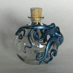Pretty octopus bottle