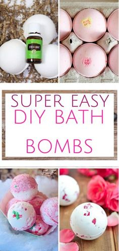 Make your own bath bombs with these fantastic recipes. Essential Oils, DIY Bath Bombs, Bath Bomb Recipes, DIY Spa, DIY Products