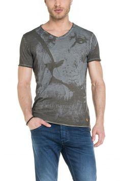 #salsajeans  #laser  T-shirt com tingimento e estampado a laser