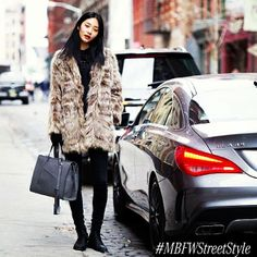 The street is the new runway: use #MBFWstreetstyle and you might get an invite from @Monica Busa to join us at #MBFW #regram #instagram