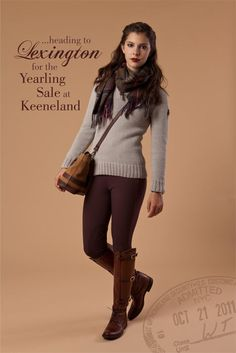 such a sucker for equestrian fashion....if only I had a horse. and money.
