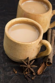 Masala Chai Tea. Milky, sweet and spicy - perfect for fall: http://gustotv.com/recipes/drinks/masala-chai-tea/