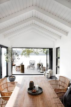 An Effortlessly Stylish and Relaxed Summer Vibe from House Doctor - NordicDesign Beach House Furniture, Beach House Decor, Home Decor, Rattan Furniture, Design Furniture, Plywood Furniture, House Doctor, Modern Lake House, Style At Home