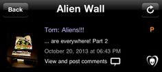 [21.10.2013] Tom: Aliens!!!  ... estão em todo lugar! Parte 2